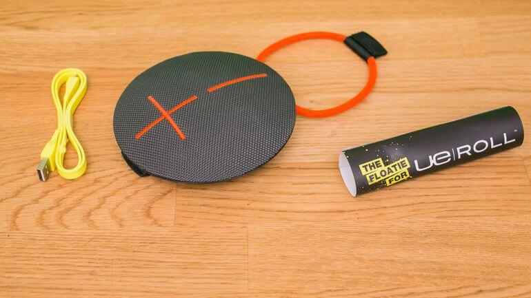 ue-roll-2 portable bluetooth speaker
