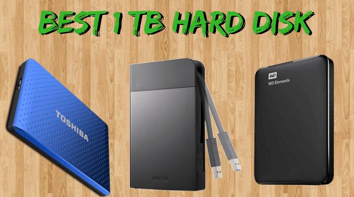 Best 1 TB hard disk