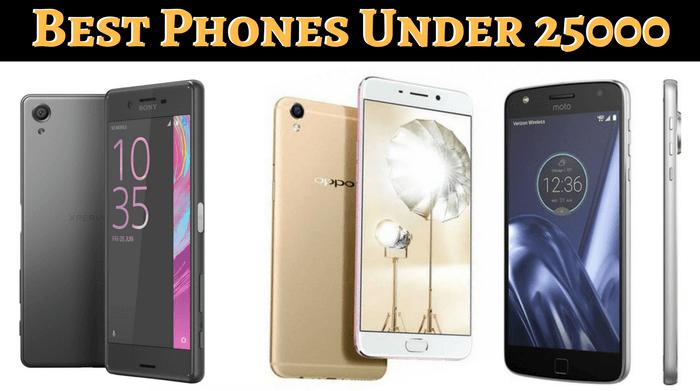 Best phones Under 25000