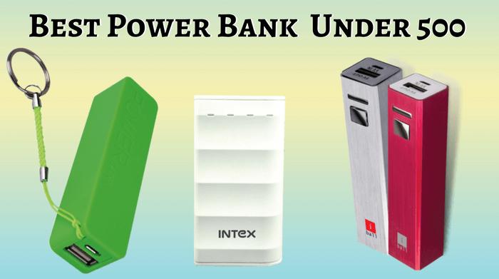 Best power bank under 500