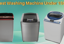 washing machine under 15000