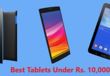 Best 4G tablets under 10000