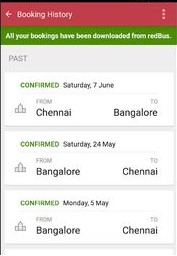 redBus Booking App: Here's How To Book And Cancel Bus
