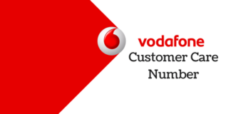 Vodafone customer care