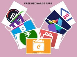 free recharge apps