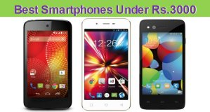 Best Android Smartphones under 3000
