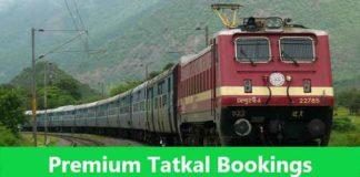 premium tatkal booking