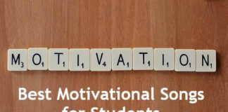 motivational songs for students