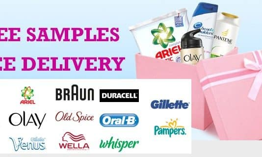 Free samples free delivery products