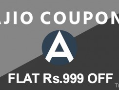 Ajio Coupons, Offers: 27 March Special 1000 Off Coupon