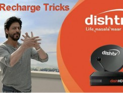 Dish TV Free Recharge Tricks on 27 March 2017 to Watch Free Tv