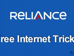 Reliance Free Internet Trick: Get 100% Free 3G Internet for 27 March