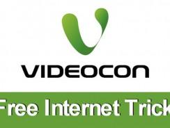 Videocon Free Internet Trick: Latest 27 March 100% Working 2.75G Free Internet